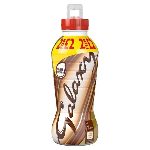 Picture of Galaxy Chocolate Milk Shake Drink No Added Sugar 376ml