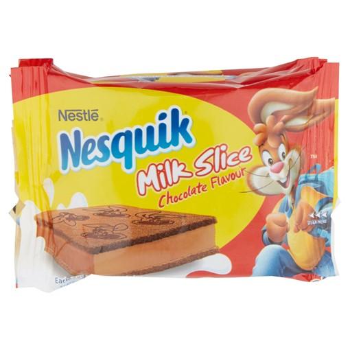 Picture of Nesquik Milk Slice Chocolate Flavour 4 x 26g (104g)