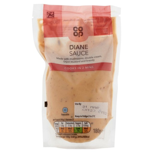 Picture of Co-op Diane Sauce 180g