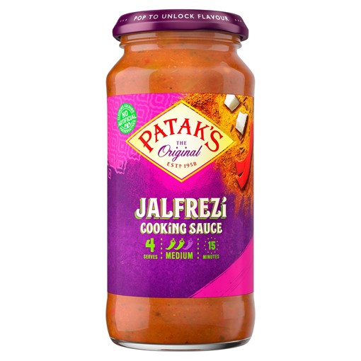 Picture of Patak's The Original Jalfrezi Cooking Sauce 450g