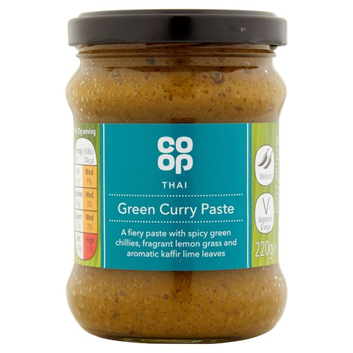 Picture of Co Op Thai Green Curry Paste 220g