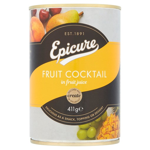 Picture of Epicure Fruit Cocktail in Fruit Juice 411g
