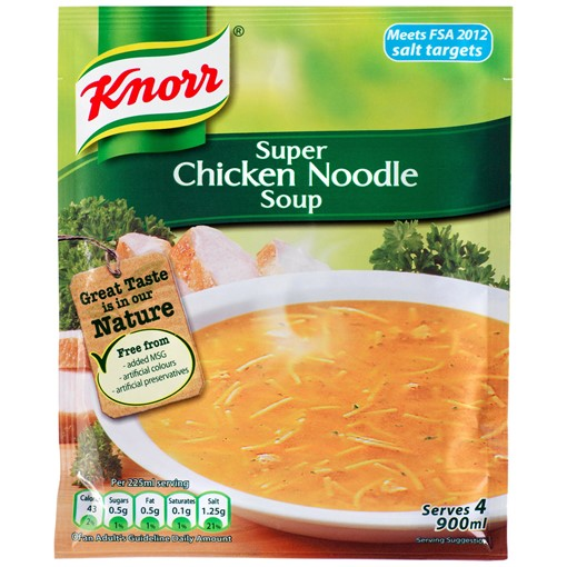 Picture of Knorr  Chicken Noodle Dry Packet Soup 51g