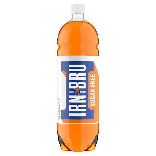 Picture of IRN-BRU Sugar Free 2 Litre Bottle