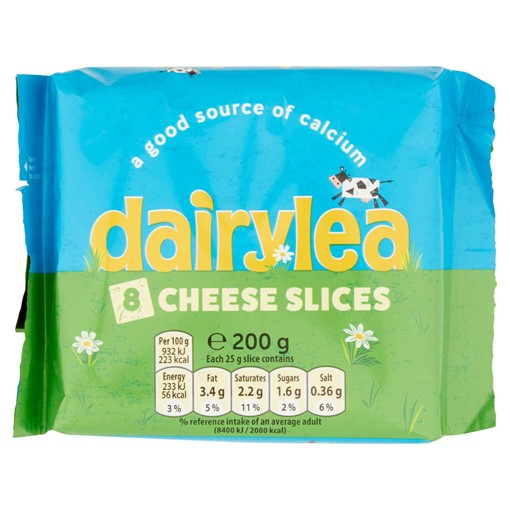 Picture of Dairylea Cheese Slices 8 Pack 200g