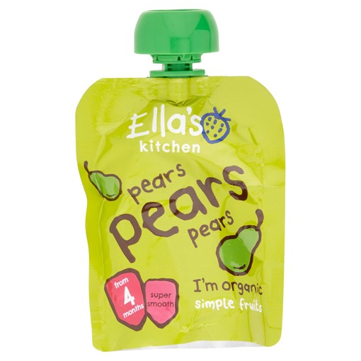 Picture of Ella's Kitchen Organic Pears Pears Pears Pouch 4+ Months 70g