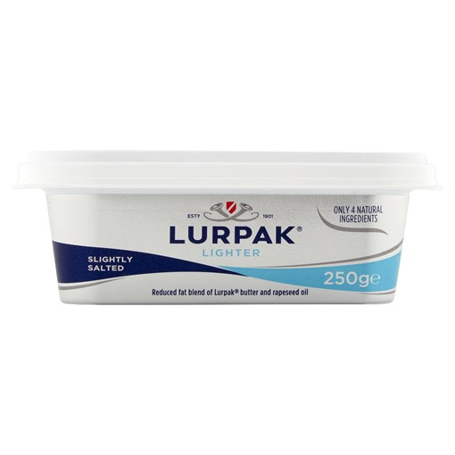 Picture of Lurpak Lighter Spreadable Blend of Butter and Rapeseed Oil 250g