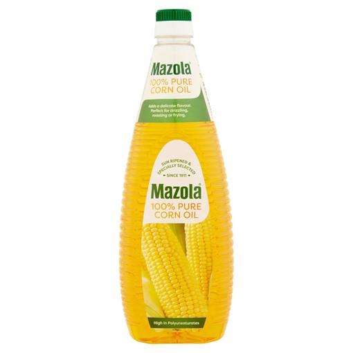 Picture of Mazola 100% Pure Corn Oil 1 Litre