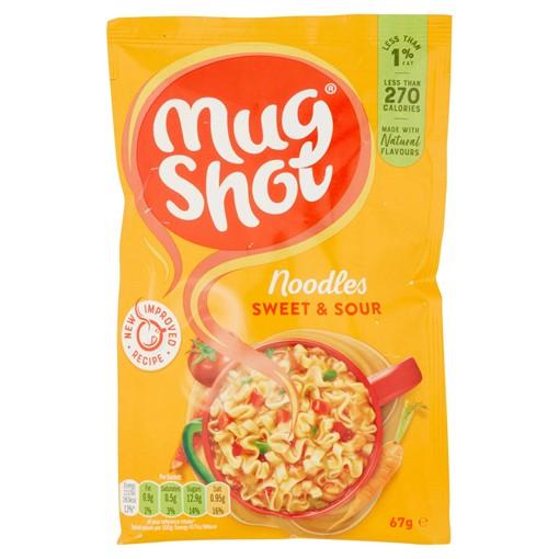 Picture of Mug Shot Tangtastic Sweet & Sour Noodles 67g