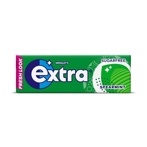 Picture of Wrigley's Extra Spearmint Sugarfree Chewing Gum 10 Pieces 14g
