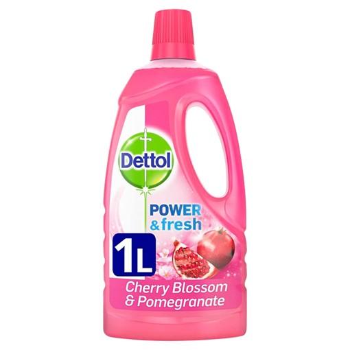 Picture of Dettol Antibacterial Multi Purpose Floor Cleaner Liquid Pomegranate 1L