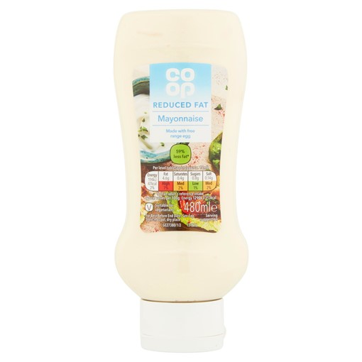 Picture of Co Op Reduced Fat Mayonnaise 480ml