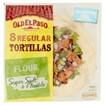 Picture of Old El Paso Regular Super Soft Flour Tortillas x8 326g