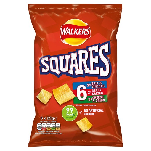 Picture of Walkers Squares Variety 6X22G