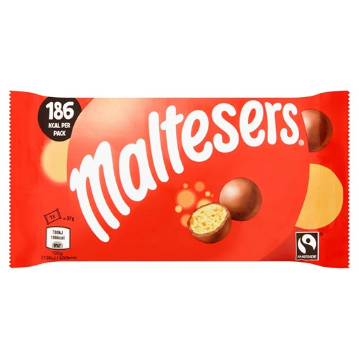 Picture of Maltesers Fairtrade Chocolate Bag 37g