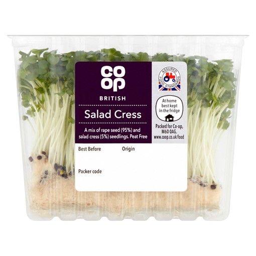 Picture of Co Op British Salad Cress
