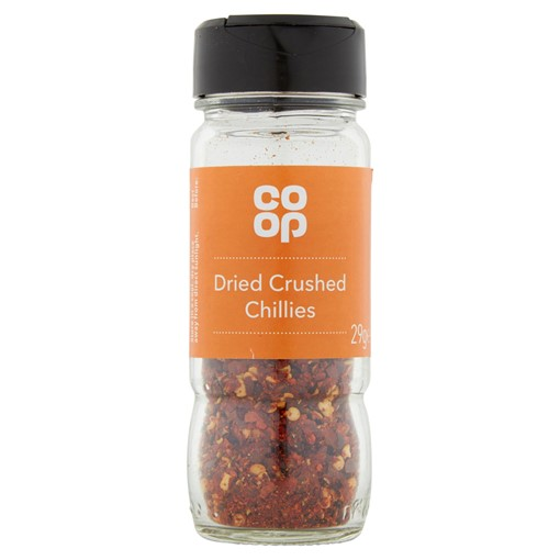 Picture of Co-op Dried Crushed Chillies 29g