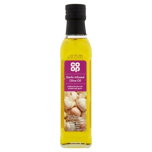 Picture of Co-op Garlic Infused Olive Oil 250ml