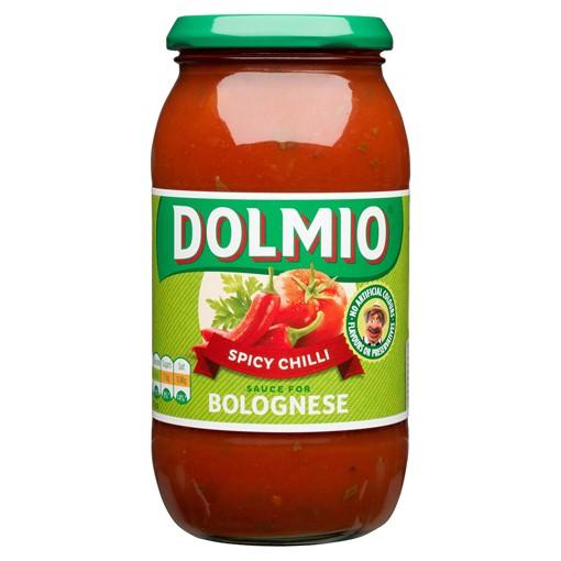 Picture of Dolmio Bolognese Chilli Pasta Sauce 500g
