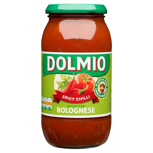 Picture of Dolmio Bolognese Chilli Pasta Sauce 500g