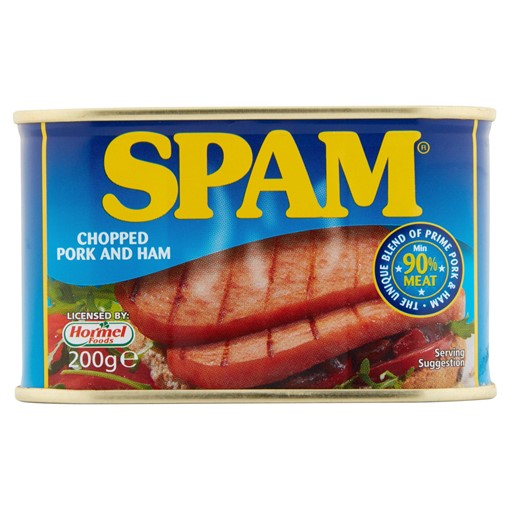 Picture of Spam Chopped Pork and Ham 200g