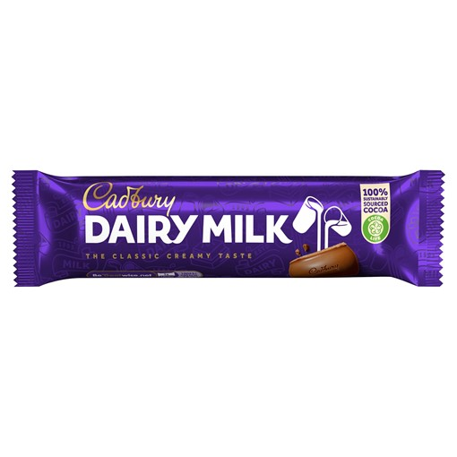 Picture of Cadbury Dairy Milk Chocolate Bar 45g