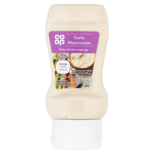 Picture of Co-op Garlic Mayonnaise 250ml
