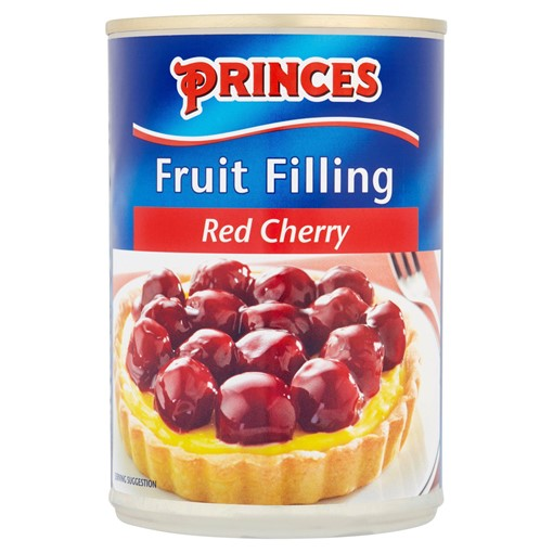 Picture of Princes Fruit Filling Red Cherry 410g