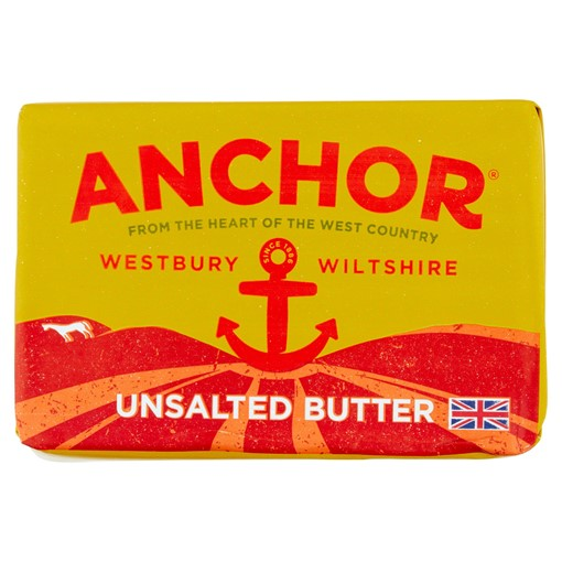 Picture of Anchor Westbury Wiltshire Unsalted Butter 250g