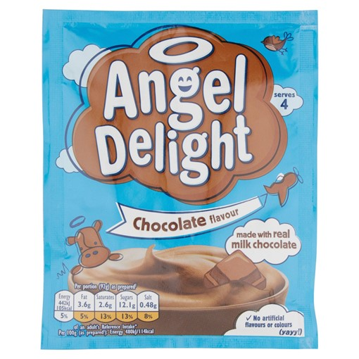 Picture of Angel Delight Chocolate Flavour Dessert 59g
