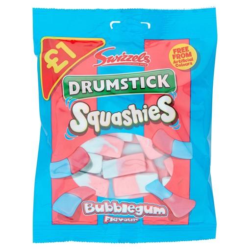 Picture of Swizzels Drumstick Squashies Bubblegum Flavour
