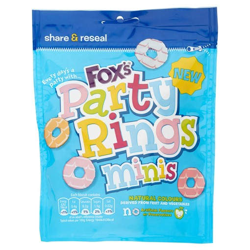 Picture of Fox's Party Rings Minis 110g