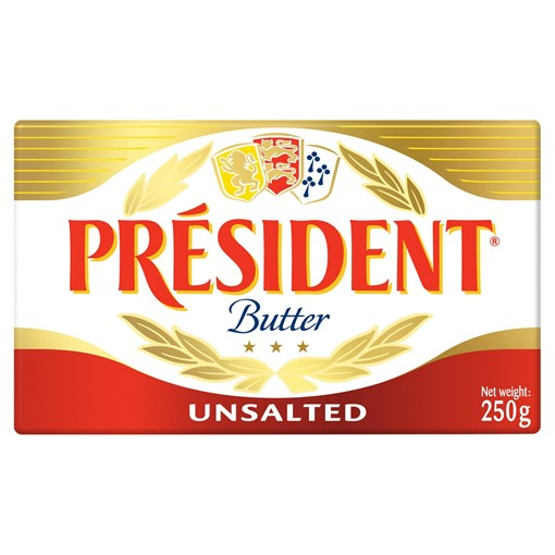 Picture of Président French Unsalted Butter 250g
