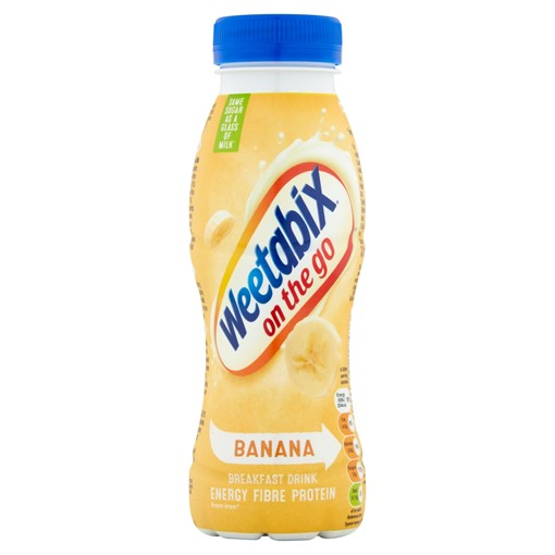 Picture of Weetabix On the Go Breakfast Drink Banana 250ml