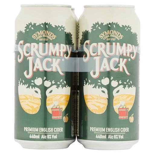 Picture of Scrumpy Jack Premium British Cider 4 x 440ml Cans