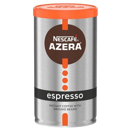 Picture of Nescafé Azera Espresso Instant Coffee with Ground Beans 100g