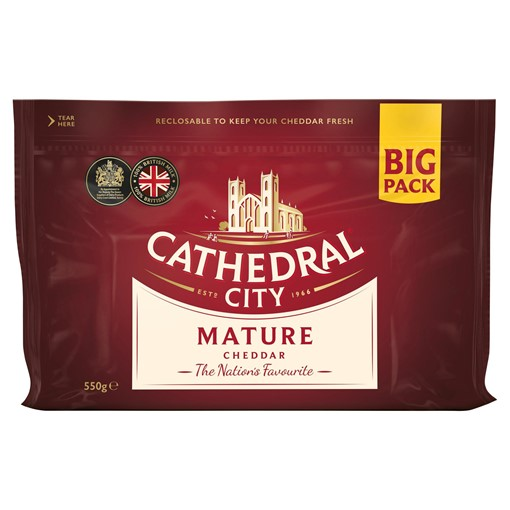 Picture of Cathedral City Mature Cheddar Cheese 550g