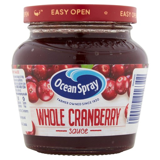Picture of Ocean Spray Whole Cranberry Sauce 250g