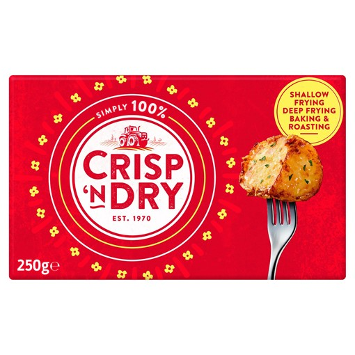 Picture of Crisp 'n Dry Simply 100% White Cooking Fat 250g