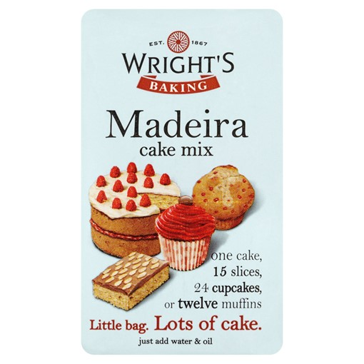 Picture of Wright's Baking Madeira Cake Mix 500g