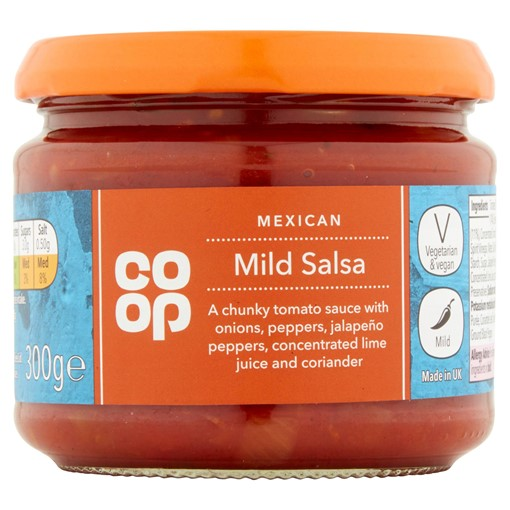 Picture of Co Op Mexican Mild Salsa 300g