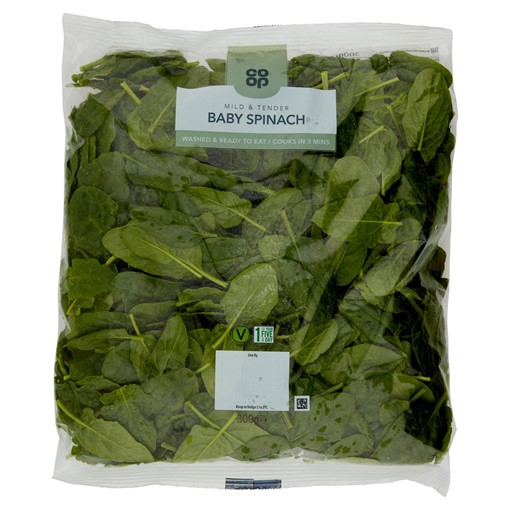 Picture of Co-op Baby Spinach 300g