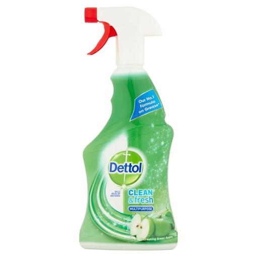 Picture of Dettol Clean & Fresh Multipurpose Refreshing Green Apple 500ml