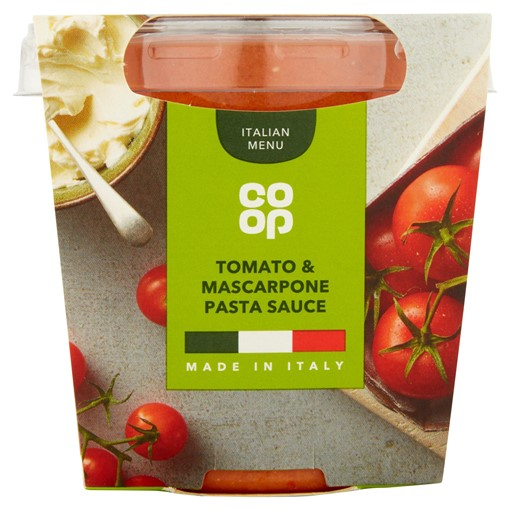 Picture of Co Op Tomato and Mascarpone Pasta Sauce 300g