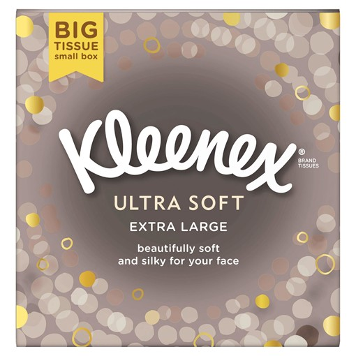 Picture of Kleenex® Ultra Soft Extra Large Tissues Single Box