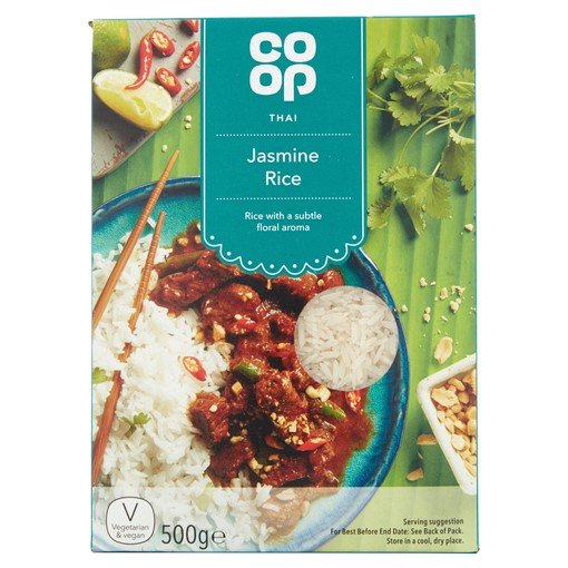 Picture of Co Op Thai Jasmine Rice 500g