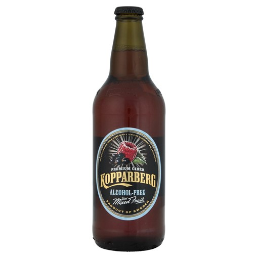 Picture of Kopparberg Premium Cider Alcohol-Free with Mixed Fruit 500ml