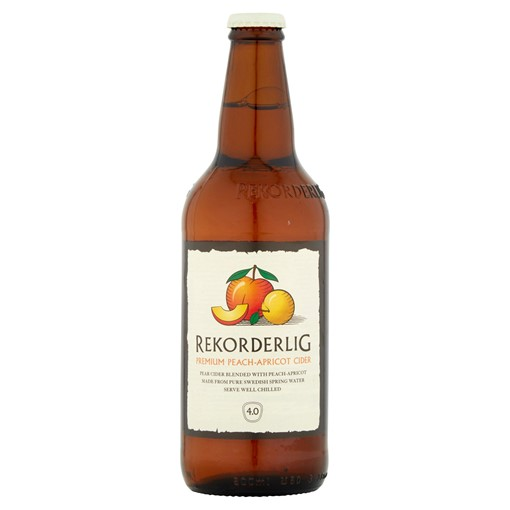 Picture of Rekorderlig Premium Swedish Peach-Apricot Cider 500ml