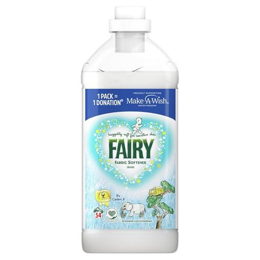 Picture of Fairy Non Bio Fabric Conditioner Original 1.9L 54 Washes, Voted #1 for Sensitive Skin