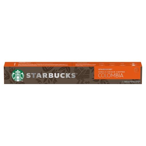 Picture of STARBUCKS by NESPRESSO Single-Origin Colombia Espresso Coffee Pods, 10 Capsules, 57g